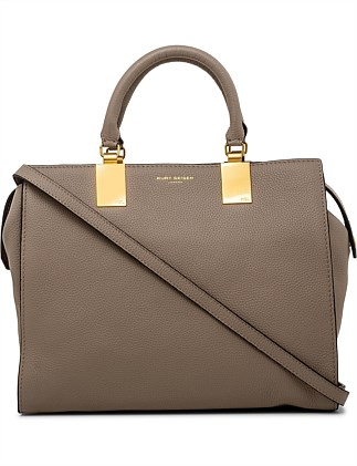 19b2200ccc5f LEATHER EMMA TOTE Special Offer. Kurt Geiger London