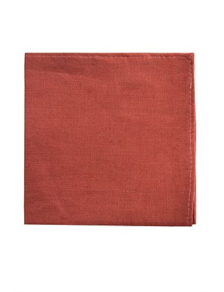 PLAIN LINEN POCKET SQUARE