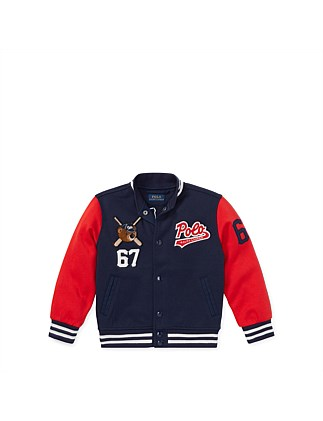 Polo Bear Baseball Jacket(2-7 Years) Special Offer. Polo Ralph Lauren 3d2ade6fa5eb