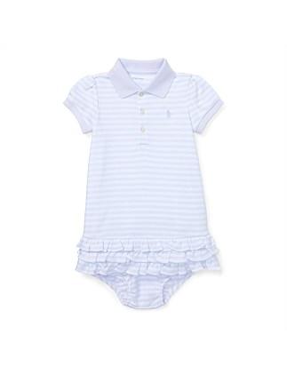 e06254ceeb Striped Ruffled Polo Dress(6-24 Months) ...