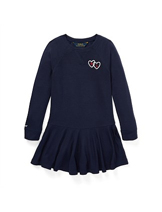 Long-Sleeve Graphic Dress(2-7 Years)