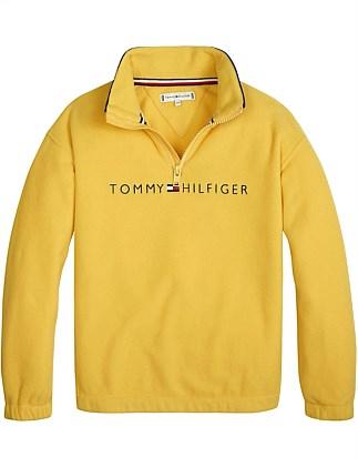 200aa6f5e Unisex Flag Collar Zip Sweatshirt (Boys 8-14 Years). Tommy Hilfiger
