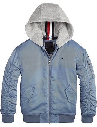 Essential Hooded Bomber (Boys 3-7 Years)
