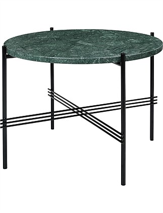 TS Coffee Table Round 55cm Verde Guatemala Marble (Green)