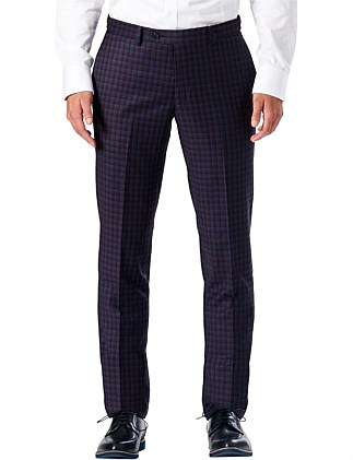 Burgco Check Suit Pant W9