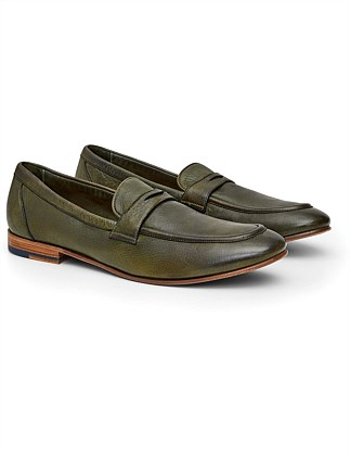 DIP DYE LEATHER LOAFER