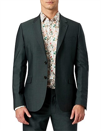 FOREST GREEN SLIM SUIT S/C W9