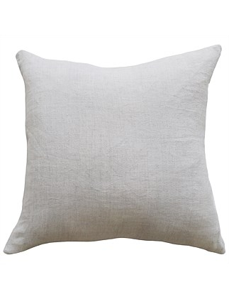Indira Linen Cushion with Feather Inner