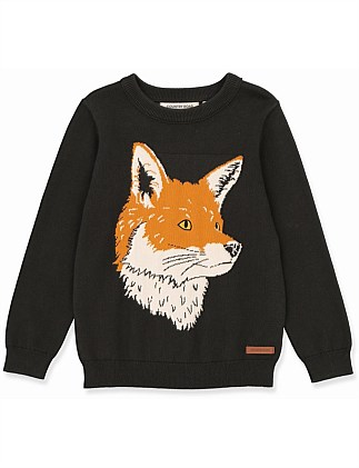 Fox Knit (Boys 2-10)