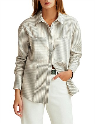 savannah stripe shirt