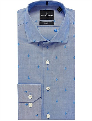 ANCHOR JACQUARD  SHIRT