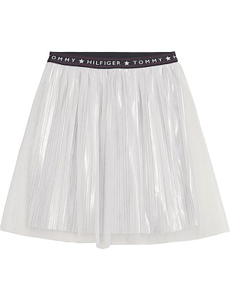 Statement Tulle Metallic Skirt (Girls 3-7 Years)