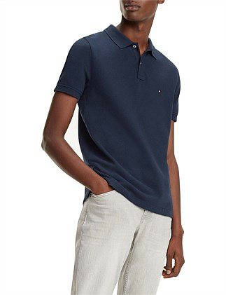 GLOBAL STRIPE INSERT SLIM POLO