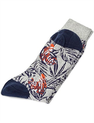TIGER PAKMS SOCK