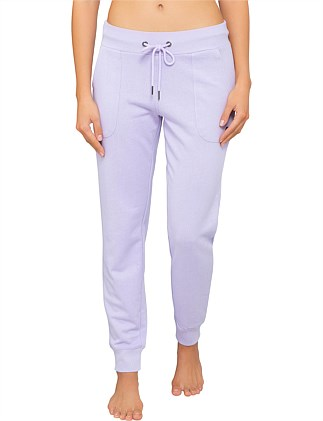 french terry skinny pant
