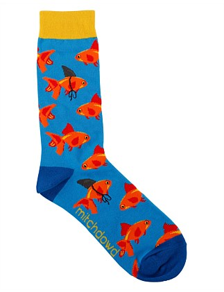 GOLDFISH FIN CREW SOCK
