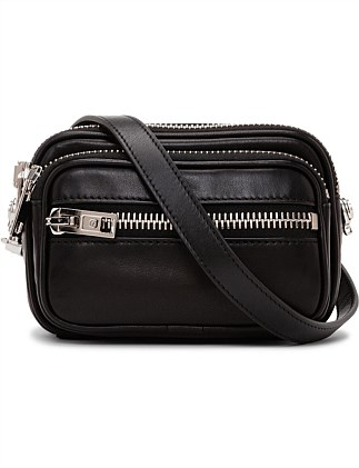 ATTICA SOFT BELT BAG BLK LAMB NAPPA/PV