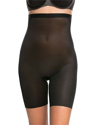 e1a4c8f2bd4d4 SKINNY BRITCHES HIGH WAISTED MID THIGH SHORT Special Offer. NAKED 2.0  VERY  BLACK. Spanx