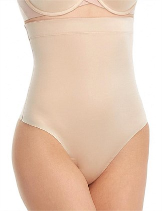 SUIT YOUR FANCY HIGH-WAIST THONG