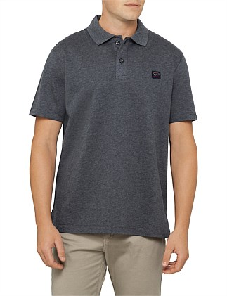 SHORT SLEEVE BADGE POLO