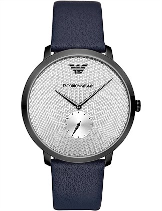 Blue Analogue Watch