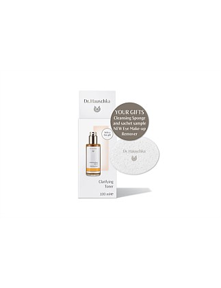 Dr Hauschka Clarifying Toner on pack gwp