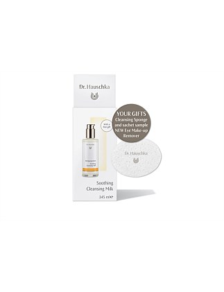 Dr Hauschka Soothing Cleansing Milk on pack gwp