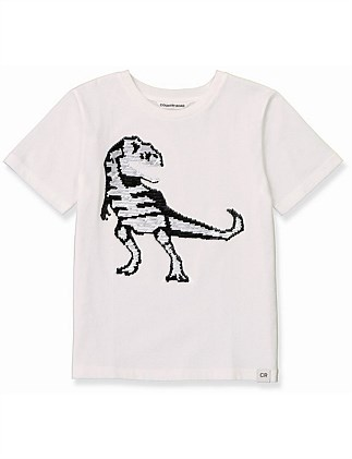 Dino Sequin T-Shirt (Boys 2-12)