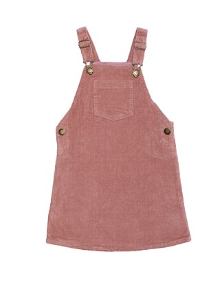 Girls Cord Pinafore (Girls 2-7 Yrs)