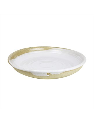 AUS MADE LARGE TAPAS BOWL WHITE