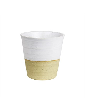 AUS MADE SMALL LATTE CUP WHITE