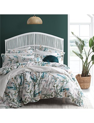 SNOWGARDEN QUILT COVER SET KING BED