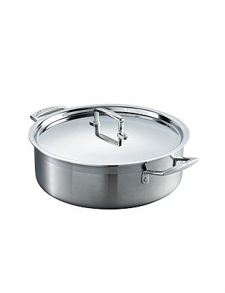 3PLY Stainless Steel Saute Pan 28cm