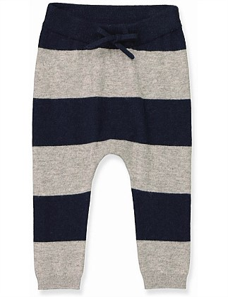 Block Stripe Knit Pant (Baby Boys 0-2)