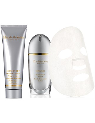SUPERSTART SKIN RENEWAL BOOSTER 30ML + CLEANSER 50ML +  MASK