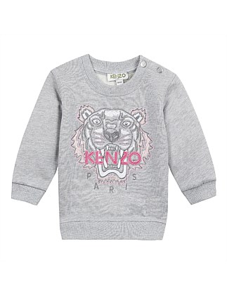 Pink Tiger Sweatshirt Perm (6-12 Years)