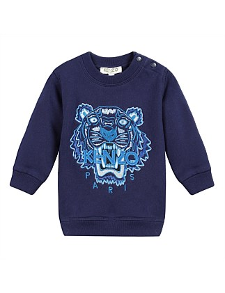 d6d1a0dfee63 Navy Tiger Sweatshirt Perm (6-12 Years)