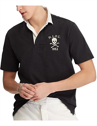 092ee3d0d4ae Classic Fit Cotton Rugby Shirt. BLACK; WHITE. Polo Ralph Lauren