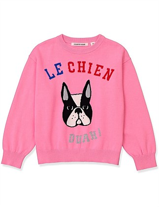 Le Chien Knit (Girls 2-12)