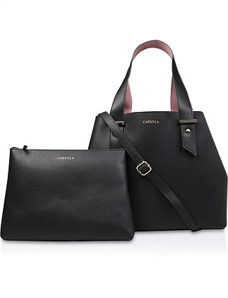 05b6437980ae CARVELA-CHLOE SLOUCH TOTE-BLACK Special Offer