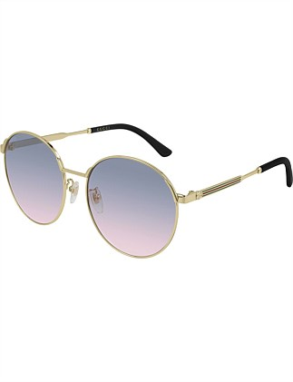 fe7b3037bb Round Gold Sunglasses