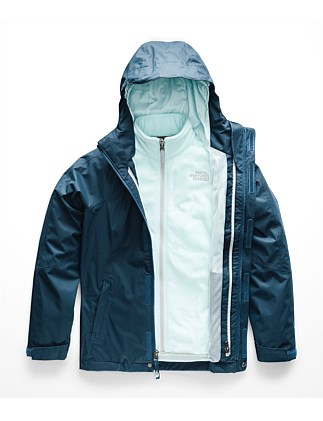 G View Triclimate Blue Wing Teal Jacket (Girls 8-14 Years)