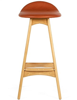 Buch Elmotique Leather Stool