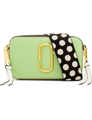 The Snapshot Small Camera Bag - Mint Multi
