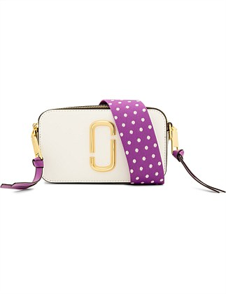 The Snapshot Small Camera Bag - Moon White Multi