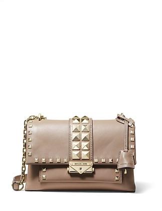ebe47a5fc4f3 Cece Medium Leather Shoulder Bag. Michael Kors