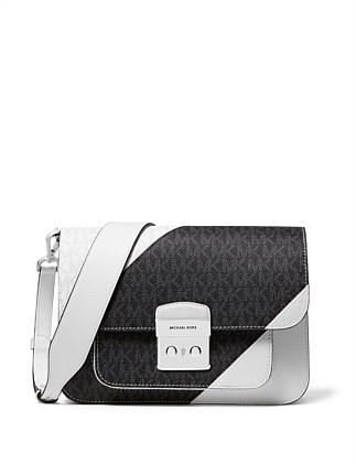 2386d5db399b Sloan Editor Leather Shoulder Bag. Michael Kors