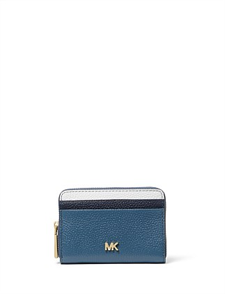 6b69b65007ca Small Tri-Color Pebbled Leather Wallet DJ_On_Sale On Sale. Michael Kors
