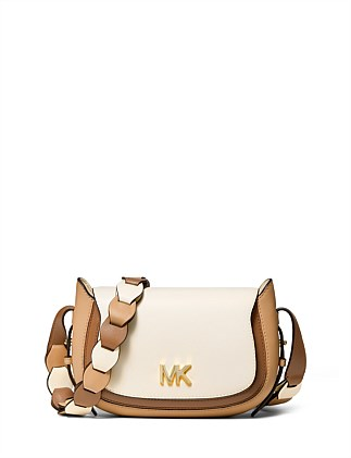 9b99442bfd0e Jolene Small Saddle Messenger DJ_On_Sale On Sale. Michael Kors