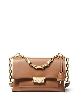 72a877624275 Cece Medium Leather Shoulder Bag Special Offer. ACORN  BLACK. Michael Kors